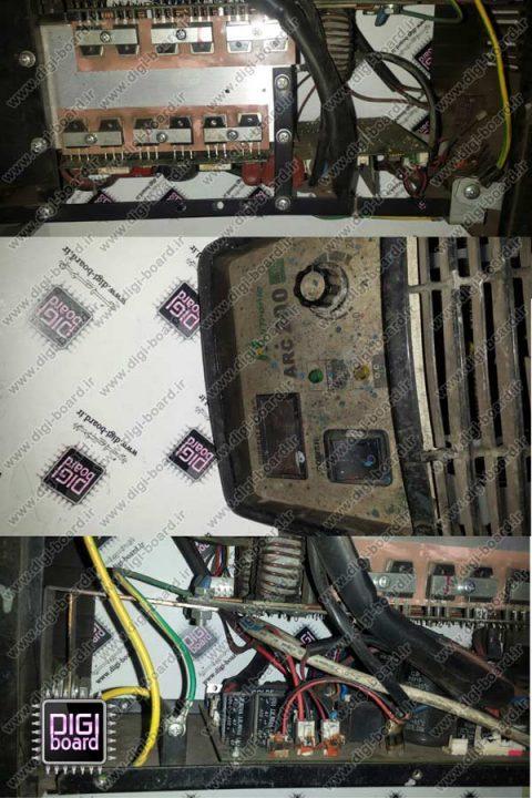 تعمیر-دستگاه-جوش-اینورتری-جوشکاری-دستگاه-جوش-اینورتر-arc200-