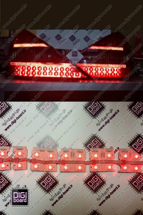 تعمیر-چراغ-LED-عقب-بنز-BENZ-SL500--