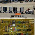 تعمیر-برد-خودرو-برقی-یدک-کش-فرودگاه-و-هواپیمایی