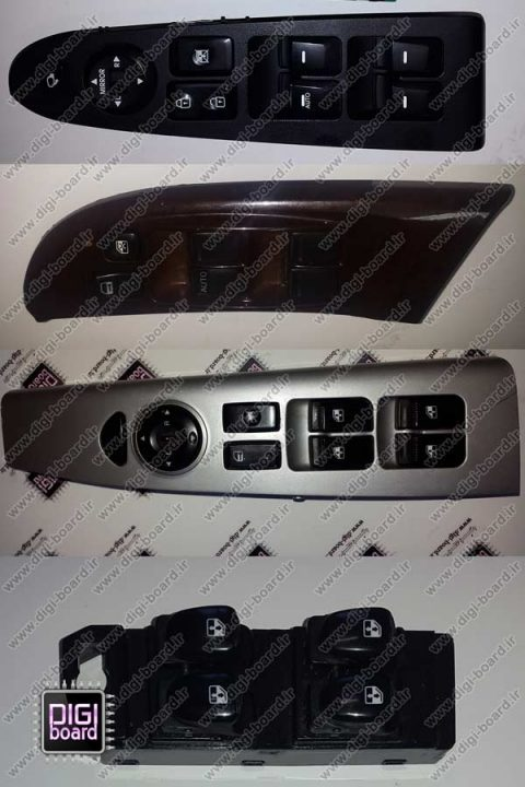 تعمیر-کلید-شیشه-بالابر-انواع-خودرو