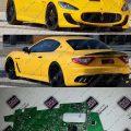 عیب-یابی-و-تعمیر-چراغ-مازراتی-Maserati-GranTurismo