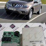 تعمیر کلید هوشمند نیسان موارانو Smart Key