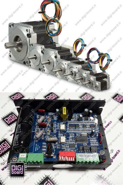 تعمیر استپ یا استپر درایو موتورهای الکتریکی