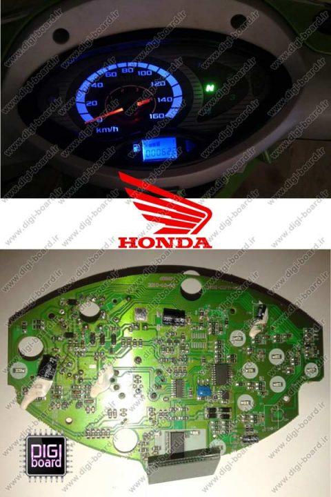 تعمیر کیلومتر شمار موتور سیکلت هوندا HONDA