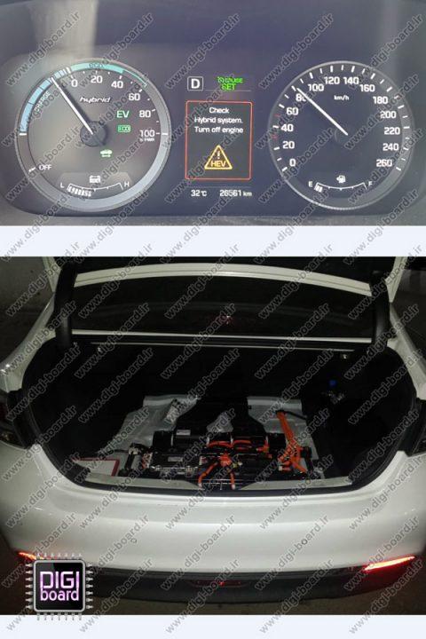 تعمیر خودرو هیبرید سوناتا یونیت باتری