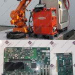 تعمیر کنترلر و کامپیوتر ربات ABB