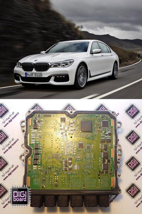 تعمیر ایسیو ecu بی ام و BMW 730