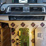 تعمیر سیستم کنترل دوربین Around View پارک بی ام و BMW 750