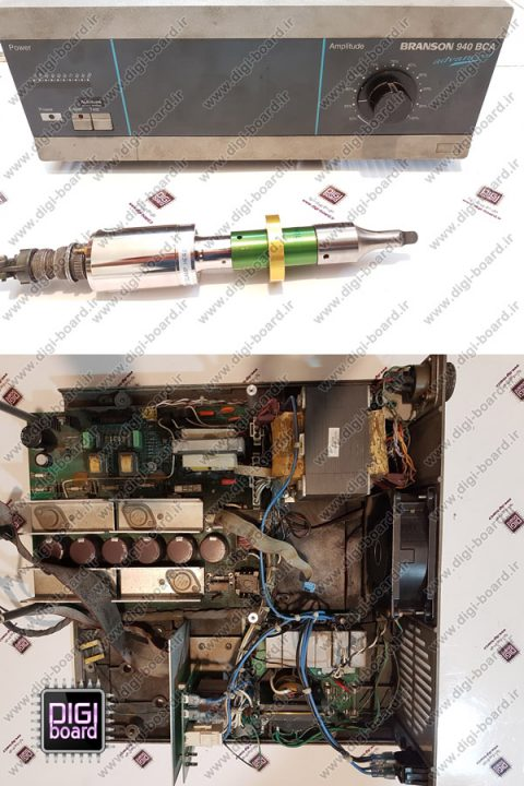 تعمیر دستگاه برش التراسونیک برانسون BRANSON
