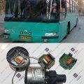 تعمیر واتر پمپ برقی اتوبوس رنو