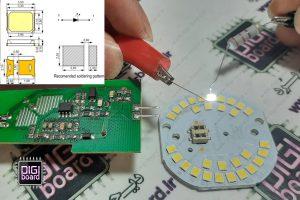 آموزش تست لامپ های ال ای دی LED