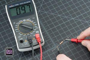 اندازه گیری مقاومت با مولتی متر