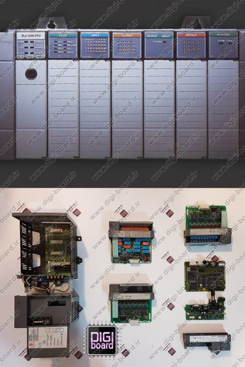 تعمیر کامپیتعمیر پی ال سی PLC آلن بردلی SLC-500وتر اتاق BCM تویوتا پرادو