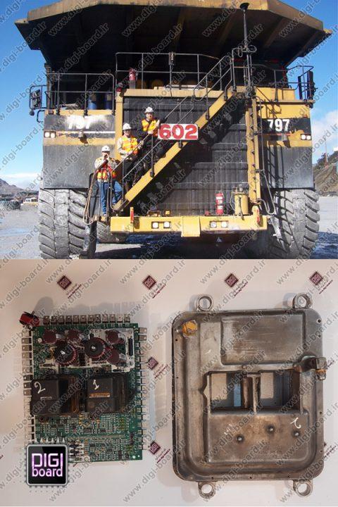 تعمیر ای سی یو ECU کاترپیلار کامیون غول پیکر کت CAT
