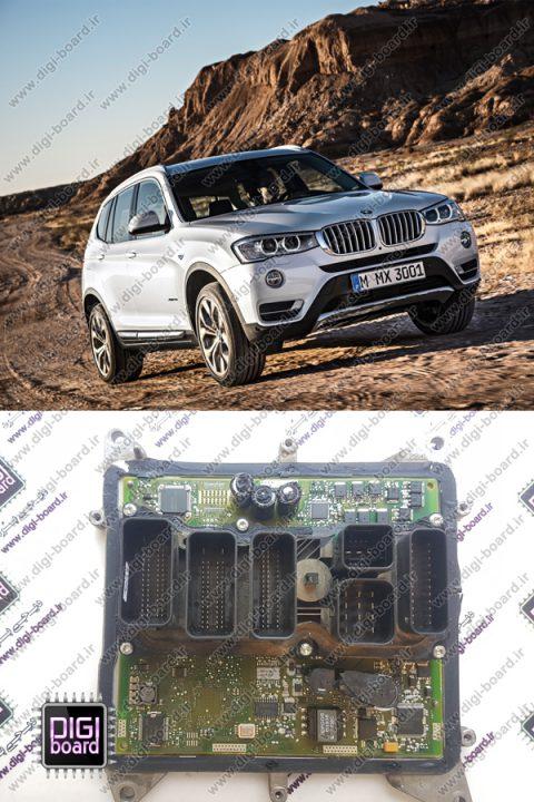 تعمیر ای سی یو ECU بی ام و BMW X3