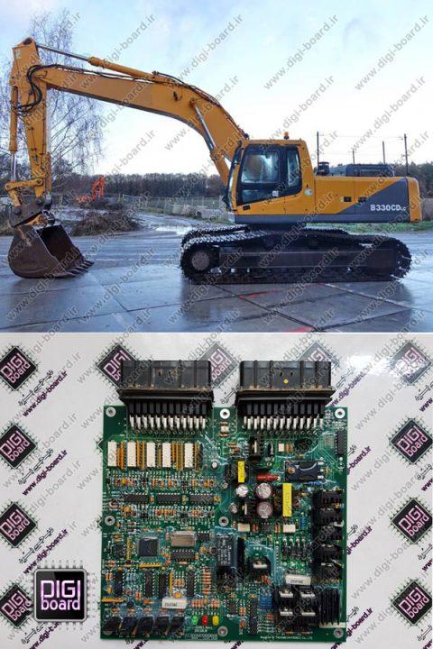 تعمیر-برد-کنترل-بیل-مکانیکی-روبیکس-ECU